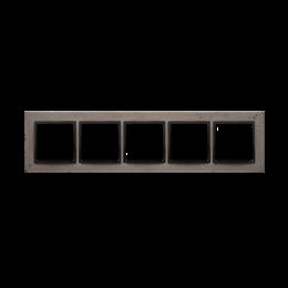 Ramka 5-krotna betonowa Szorstka przyjaźń-251580