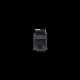 Wkład gniazda komputerowego RJ45 kat.5e, nieekranowany (UTP) czarny-251323