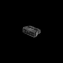 Gniazdo żeńskie GESIS® złącze 5-polowe 16A 400V szary grafit-256605