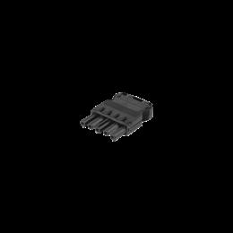 Wtyczka żeńska GESIS® złącze 5-polowe 16A 400V szary grafit-256607