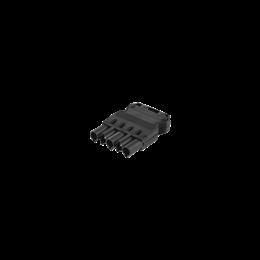 Wtyczka męska GESIS® złącze 5-polowe 16A 400V szary grafit-256608