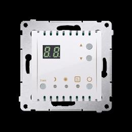 Regulator temperatury z wyświetlaczem (czujnik wewnętrzny) biały-252746
