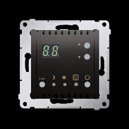 Regulator temperatury z wyświetlaczem (czujnik wewnętrzny) antracyt, metalizowany-252751