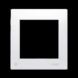 Ramka 1- krotna do puszek karton-gips antybakteryjny biały-251564