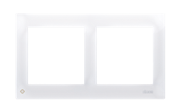 Ramka 2- krotna antybakteryjny biały-251589