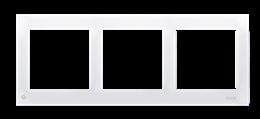 Ramka 5- krotna do puszek karton-gips antybakteryjny biały-251620