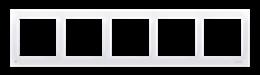 Ramka 3- krotna do puszek karton-gips antybakteryjny biały-251653
