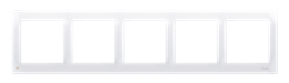 Ramka 5- krotna antybakteryjny biały-251646