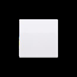 Klawisz pojedynczy do łączników i przycisków biały-254556