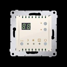 Regulator temperatury z wyświetlaczem (czujnik wewnętrzny) kremowy-252747