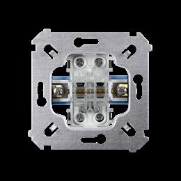 Łącznik schodowy podwójny (mechanizm) 10AX 250V, zaciski śrubowe,-251994
