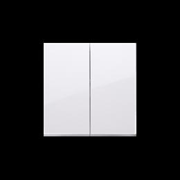 Klawisze do łącznika podwójnego schodowego SW6/2M biały-251995