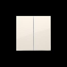 Klawisze do łącznika podwójnego schodowego SW6/2M kremowy-251997