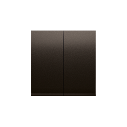 Klawisze do mechanizmów: SW7/2XM, SW6P1M brąz mat, metalizowany-252020