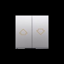 Klawisze do przycisku żaluzjowego SZP1M srebrny mat, metalizowany-252569
