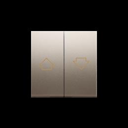 Klawisze do przycisku żaluzjowego SZP1M złoty mat, metalizowany-252570