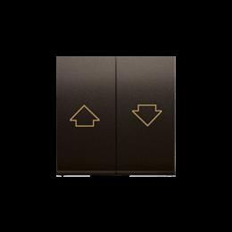 Klawisze do przycisku żaluzjowego SZP1M brąz mat, metalizowany-252571