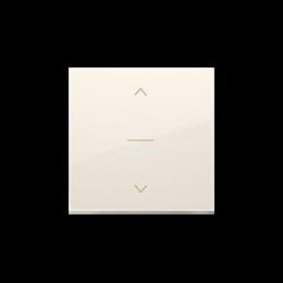 Klawisze do łącznika żaluzjowego pojedyńczego trójpozycyjnego 1-0-2 kremowy-252555