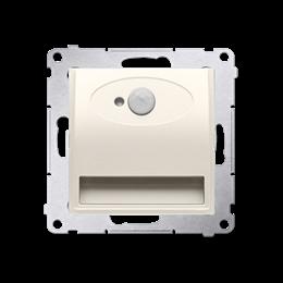 Oprawa oświetleniowa LED z czujnikiem ruchu, 230V kremowy-252822