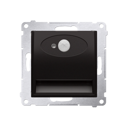 Oprawa oświetleniowa LED z czujnikiem ruchu, 14V antracyt, metalizowany-252854