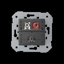 Gniazdo Mini jack + 2 RCA-251331