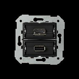 Gniazdo USB + HDMI (V1.4), żeńskie-251333