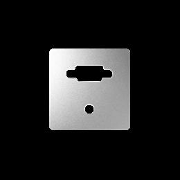 Pokrywa do gniazda VGA żeńskiego + mini jack aluminium-251363