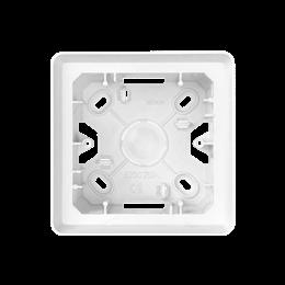 Puszka natynkowa 1-krotna biały-250799