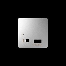Pokrywa do odbiornika Bluetooth i ładowarki USB aluminium-251212
