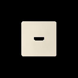 Pokrywa do gniazda HDMI (V1.4) żeńskiego kremowy-251339