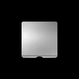 Pokrywa do gniazda głośnikowego / łączników z cięgnem aluminium-251148