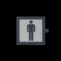 Filtr do klawisza świecącego tło białe - piktogram Mężczyzna-251092