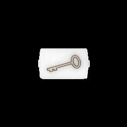 """Okienko białe do 82013 - piktogram """"klucz""""-251041"""