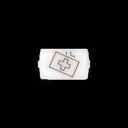 """Okienko białe do 82013 - piktogram """"opieka medyczna""""-251042"""