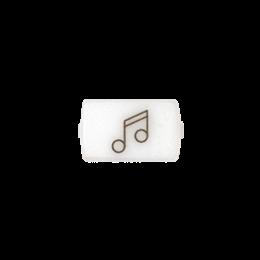 """Okienko białe do 82013 - piktogram """"muzyka""""-251043"""