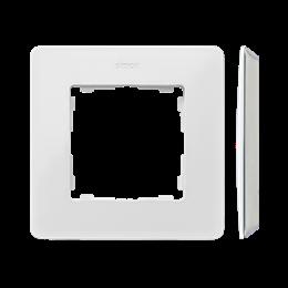 Ramka 1- krotna biały Kol.podst.:szary-250724