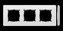 Ramka 3- krotna biały-250749