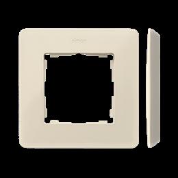 Ramka 1- krotna kremowy-250726