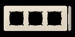 Ramka 3- krotna kremowy-250750