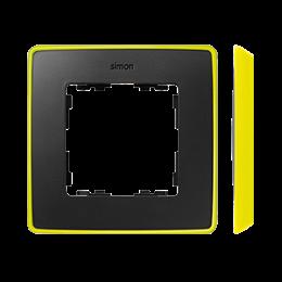 Ramka 1- krotna grafit jasny żółty-250842
