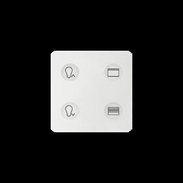 Klawiatura Sense biały Ikony:Custom T3-251416