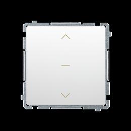 Łącznik żaluzjowy pojedynczy trójpozycyjny (1-0-2) (moduł) 10A 250V, szybkozłącza, biały-253675