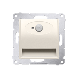 Oprawa oświetleniowa LED z czujnikiem ruchu, 14V kremowy-252847