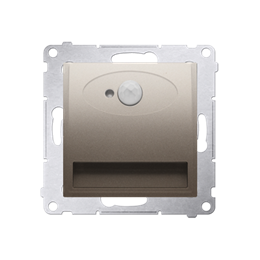 Oprawa oświetleniowa LED z czujnikiem ruchu, 14V złoty mat, metalizowany-252849
