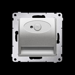 Oprawa oświetleniowa LED z czujnikiem ruchu, 230V srebrny mat, metalizowany-252817