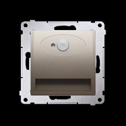 Oprawa oświetleniowa LED z czujnikiem ruchu, 230V złoty mat, metalizowany-252818