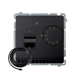 Regulator temperatury z wyświetlaczem z czujnikiem zewnętrzym (sonda) grafit mat, metalizowany-254289