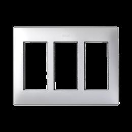 Ramka obudowy SIMON 500 3×S500 6×K45 aluminium-255763