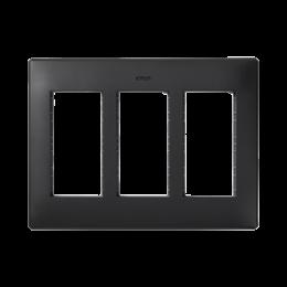 Ramka obudowy SIMON 500 3×S500 6×K45 szary grafit-255764