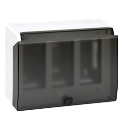 Obudowa natynkowa z pokrywą SIMON 500 3×S500 6×K45 czysta biel-255798